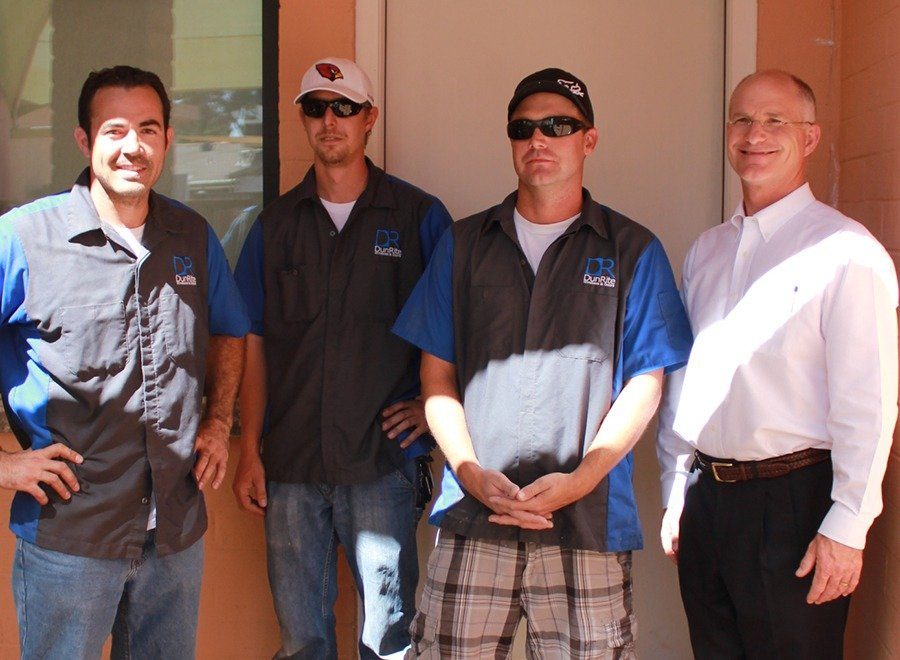 Dunrite AZ Window Replacements crew