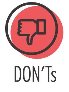 DON'T Icon