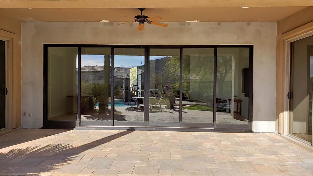 Big sliding glass doors - Heritage by Andersen