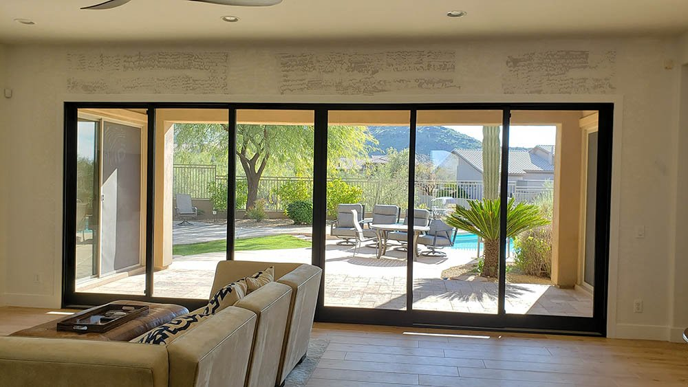 Big Sliding Glass Doors Or Multifold, How Wide Can Sliding Patio Doors Be