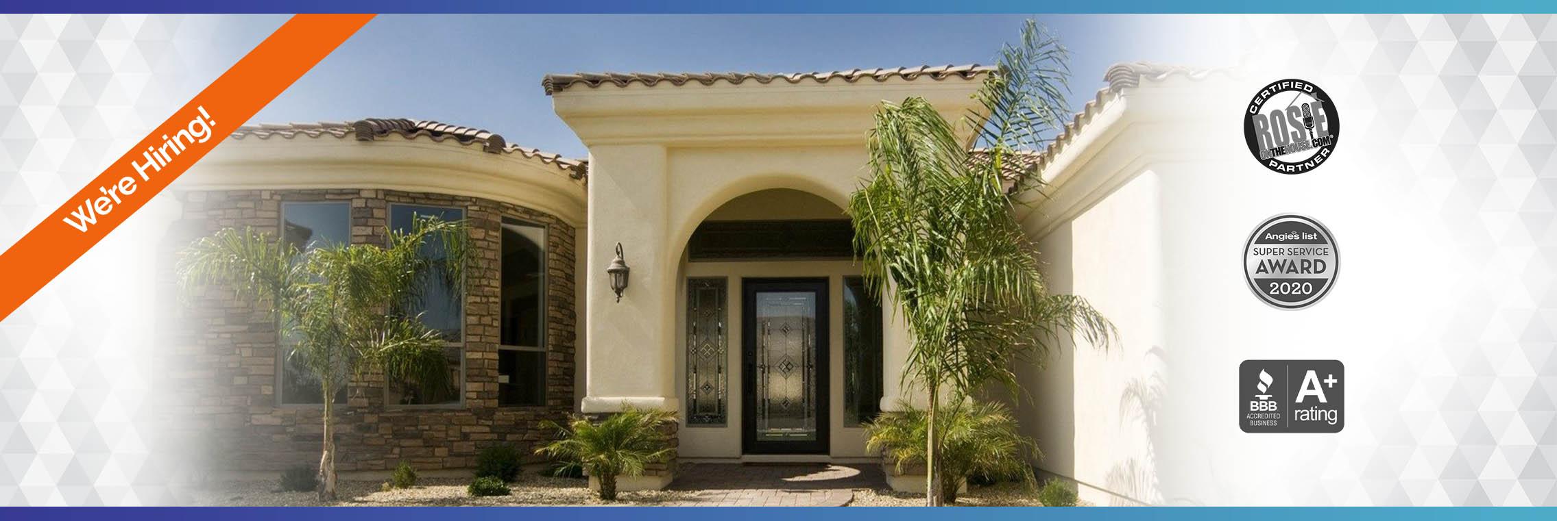 Header image - AZ Window Replacement - DunRite Windows & Doors in Scottsdale, Arizona