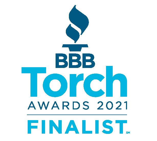 BBB Torch Award Finalist 2021