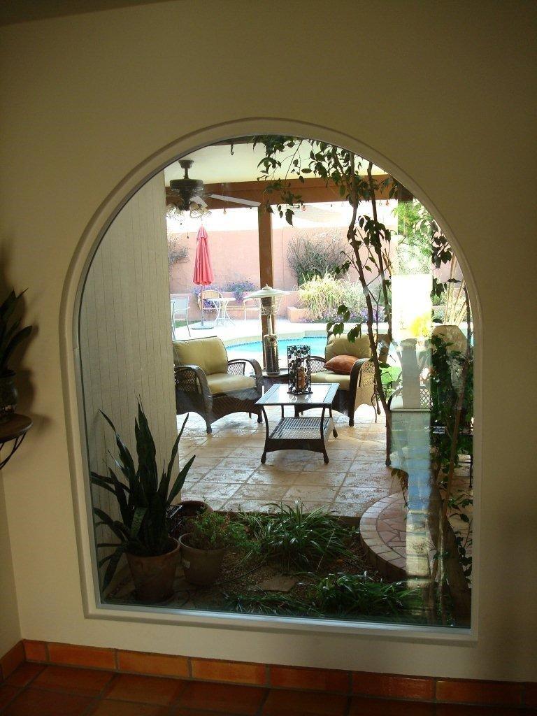 Arched Dual Pane Window Scottsdale Arizona