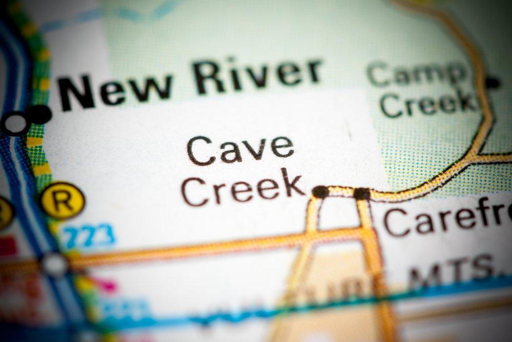 Cave Creek, AZ map