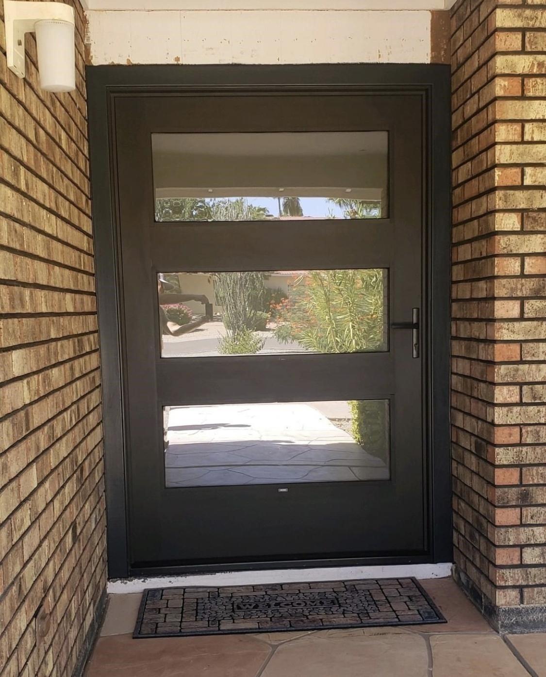 Pella Exterior Front Door Phoenix Arizona