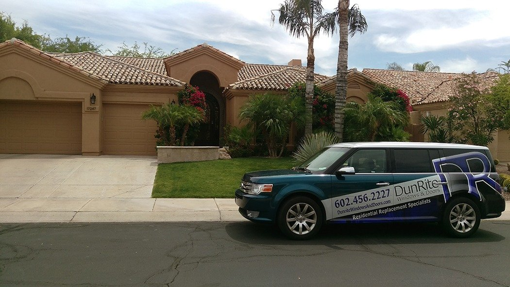 Aluminum Windows from DunRite Windows & Doors, Phoenix Arizona