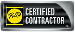 Pella Certified Contractor logo